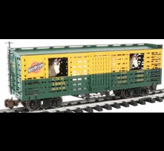 Bachmann #98705 C & NW w/Horses - Animated Stock Car