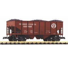 PIKO #38916 PRR Rib Sided Hopper w/ Coal Load