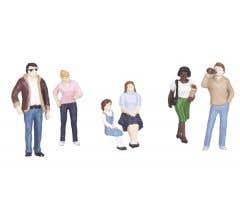 MTH 30-11047 O Scale 6 Piece Figure Set #3