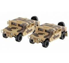 Micro Trains #49945953 Desert Camo Humvee 2-Pack