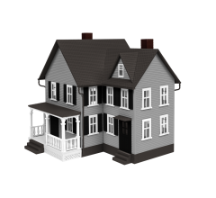 Lionel #1930410 Morris House - Kit