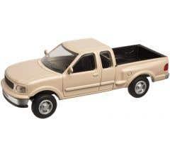 Atlas #2945 Ford 1997 F-150 Pickup Truck - Tan (2 pack)