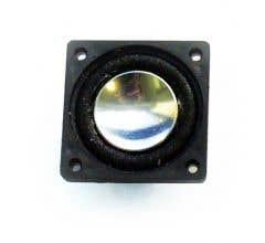 """SoundTraxx #810131 Mega Bass Speaker, 1.10x1.10"""" Square x 0.44"""" (D), 8 ohm"""