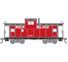 Athearn Roundhouse #1342 Wide Vision Caboose - Rock Island