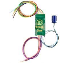 TCS #1516 WOW101-Steam Sound Decoder - Hardwired For 9-Pin JST harnesses, it does not come with Keep-Alive
