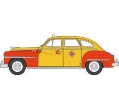 Oxford #87DS46002 Desoto Suburban 1946-48 San Francisco Taxi