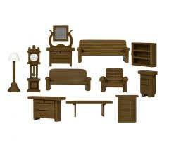 Lionel HO #1957250 Furniture Set