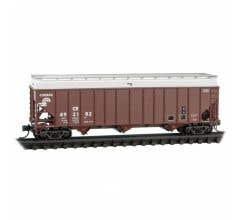 Micro Trains #10800410 Conrail 3 Bay Hopper w/Cover - Rd#CR 492182