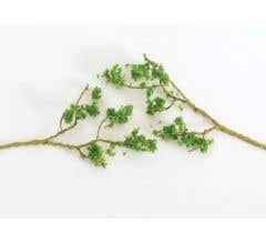 Bachmann #32645 60 Wire Foliage Branches - Light Green