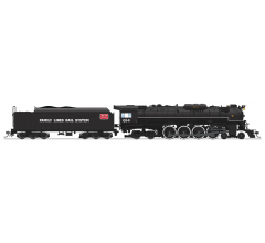 """Broadway Limited #4908 C&O J3a 4-8-4 Greenbrier Brass Hybrid #614 Excursion Service """"Family Lines Rail System"""" Lettering w/ Paragon3 Sound/DC/DCC HO"""