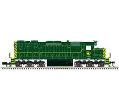 Atlas #10002775 Jersey Central SD-35 Locomotive #2507 w/DCC & ESU Sound
