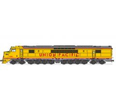 Broadway Limited #2510 UP Centipede #1600A/1601A Set Yellow & Gray Scheme both units Paragon3/DC/DCC HO