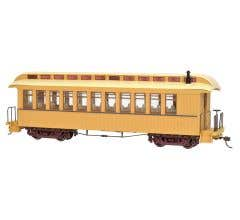 Bachmann #26204 Painted Unlettered Buff & Tan - Coach/Observation w/ Lighted interior