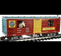 Bachmann #92719 Ringling Bros. & Barnum & Bailey - Animated Horse Car