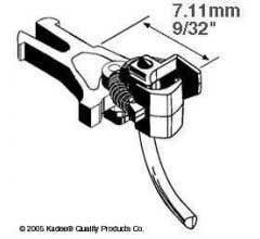 """Kadee #17 NEM 362 short coupler 7.11mm (.280"""")"""