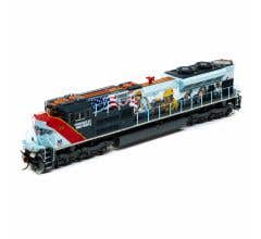 Athearn #G11110 SD70ACe UP #1111 Powered by our People