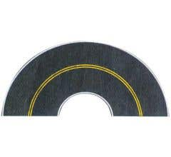 Walthers #949-1253 Flexible Self-Adhesive Paved Roadway - Vintage and Modern Curves