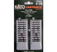 Kato #2-170 4 1/4 Straight Bumper (2Pk)