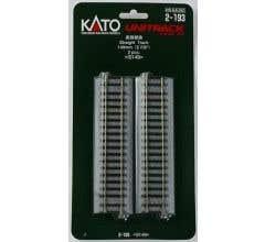 """Kato #2-193 149mm (5 7/8"""") Straight Track [2 pcs]"""