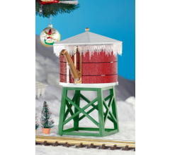 PIKO #62702 North Pole Water Tower Built up (IN STORE ONLY)