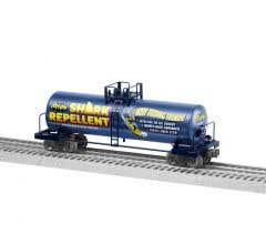 Lionel #2028280 Batman Shark Repellent Unibody Tank Car