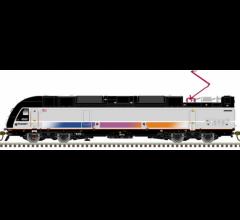 "Atlas #40004071 N ALP-45DP ""GOLD"" NJ TRANSIT #4512"