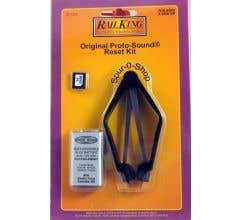 MTH 50-1023 Original Proto-Sound Reset Kit Contains: (1) 9v NiCad Battery, (1) Chip