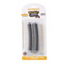 bachmann #44855 17.50 in. Radius Curved Track (6/card)