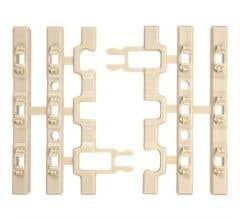 Atlas 6055 O 3 Tie Snap-Lock Clips/Cement Ties (8 Pcs)