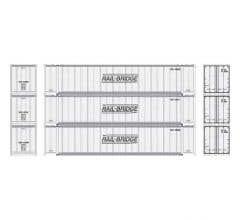 Athearn #17298 48' Container Rail Bridge #1 (3)