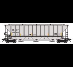 Trainworx #24424-02 PS4427 Covered Hopper - CSXT #253857