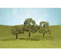 """Bachmann #32207 5"""" Walnut Trees two pieces per pack"""