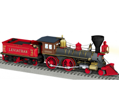 Lionel #1931770 Central Pacific 4-4-0 Leviathan #63 Hybrid (Built To Order)