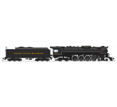 """Broadway Limited #4907 C&O J3a 4-8-4 Greenbrier Brass Hybrid #614 Excursion Service """"Chessie System Railroads"""" Lettering w/ Paragon3 Sound/DC/DCC HO"""