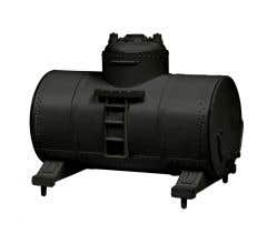 Lionel HO #1957300 Tank Containers 4 Pk- Black
