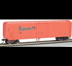 Bachmann #17946 50' Steel Reefer Tropicana - Orange