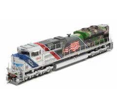 Athearn #G01943 HO SD70ACe With DCC & Sound UP/Spirit of UP #1943