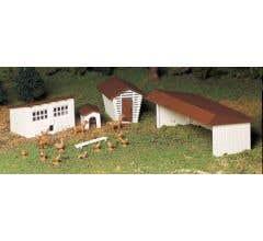 Bachmann #45604 Farm Out-Building - Kit