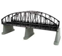 MTH 40-1111 O 2- Track Steel Arch Bridge - Black