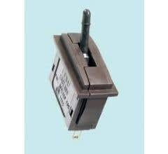 Peco #PL26B Passing Contact Switch - Black Lever