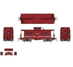 Rapido #144025 Northeastern-style Steel Caboose: WM - Speed Lettering Scheme