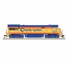 Atlas #10003570 U30C Chessie System-C&O #3307 w/DCC & ESU Sound