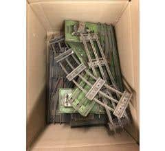 Lionel #LIOSTDTRACK Box Of Assorted Used Standard Gauge Track 4 Switches