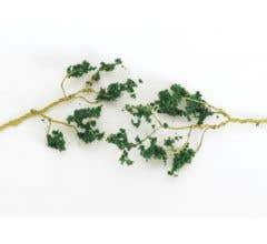 Bachmann #32646 60 Wire Foliage Branches - Dark Green