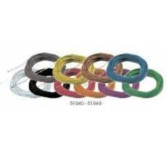 ESU #51940 Super thin cable 0.5mm diameter AWG36 10m bundle white colour