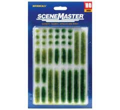Walthers #949-1103 Grass Tufts & Strips - Summer