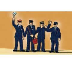 LGB #51405 Swiss Railroad Worker Figures