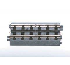 """MTH 40-1029 RealTrax - 10"""" Insulated Straight Track Section Set"""