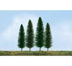 """JTT #92030 Cedar Tree Bulk Pack 2""""- 4"""" (36 pcs)"""