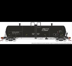 Rapido #135007A Procor 20K gal Tank Car: NCTX North American